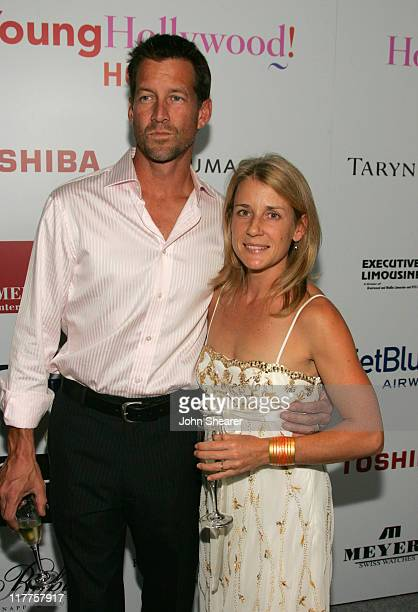 James Denton and wife Erin O'Brien during Movieline Hollywood Life's Hollywood Style Awards - Arrivals at Pacific Design Center in West Hollywood,...
