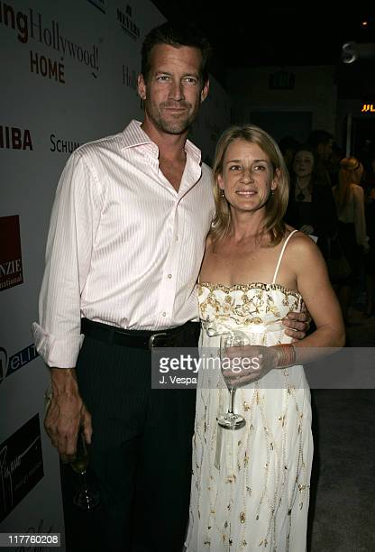James Denton and wife Erin O'Brien during Movieline Hollywood Life's Hollywood Style Awards Red Carpet and Cocktail Party at Pacific Design Center in...