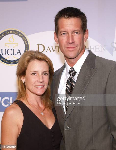 James Denton and wife, Erin O'Brien during The Millennium Ball 2006 Fundraiser to Benefit Ronald Reagan UCLA Medical Center - Arrivals at Ronald...