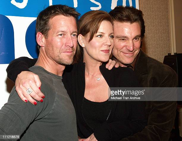 James Denton Andrea Parker and Michael T Weiss during 'Out at Short' Reading to Benefit Cure Autism Now at The Sportsman Lodge in Studio City...