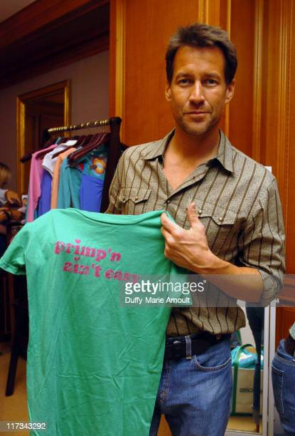 James Denton at the Primp gift station during Lucky/Cargo Club Day 2 at Ritz Carlton in New York City New York United States
