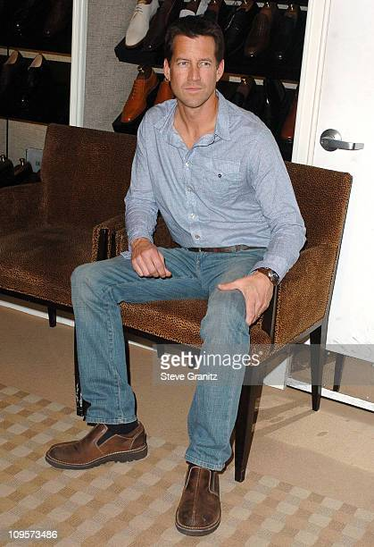 James Denton during Bono Ali Hewson and Rogan Gregory Launch the New Conscious Commerce Clothing Line at Saks Fifth Avenue Men's Store in Beverly...