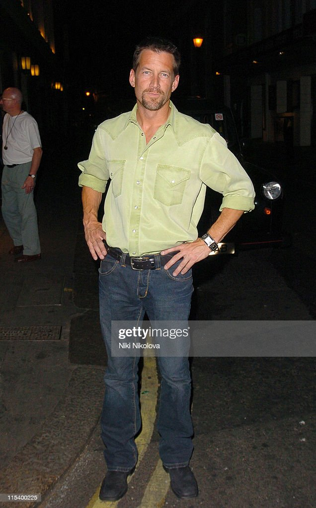 James Denton Sighting at The Ivy Restaurant in London - June 22, 2005