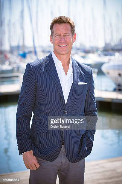 James Denton poses during the 'The Good Witch' photocall at MIPTV on April 13 2015 in Cannes France