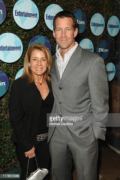 James Denton , with his wife Erin O'Brien Denton, at the Entertainment Weekly Pre-Oscar Party 2007. *EXCLUSIVE*