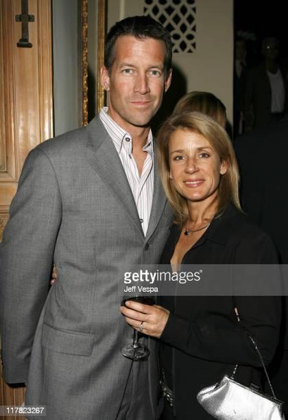 James Denton with his wife Erin O'Brien Denton at the Entertainment Weekly Pre-Oscar Party 2007. *EXCLUSIVE*