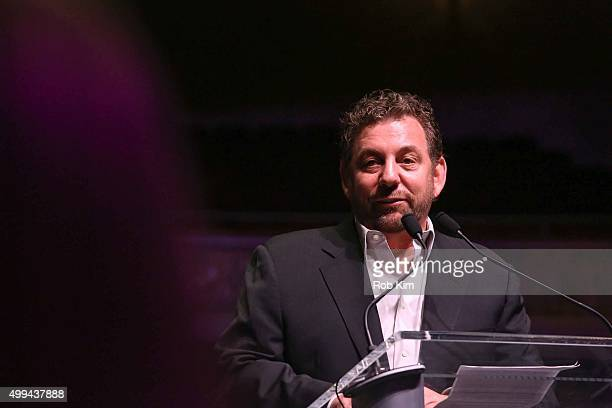 James Dolan attends a Madison Square Garden Company Special Announcement at The Beacon Theatre on December 1 2015 in New York City James L Dolan...