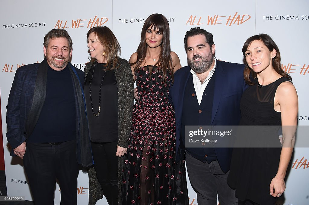 "The Cinema Society & Ruffino Host A screening Of ""All We Had""- Arrivals"