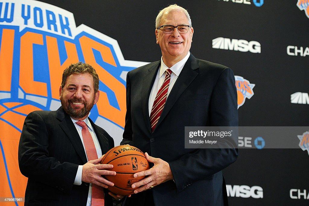 New York Knicks Introduce Phil Jackson