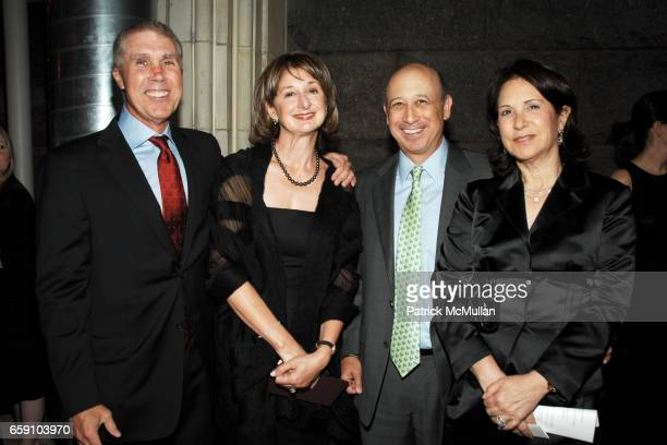 James Dow Lucille Zanghi Lloyd Blankfein and Laura Blankfein attend BARNARD COLLEGE PASS THE TORCH Scholarship Dinner and Auction at Guastavino's on...