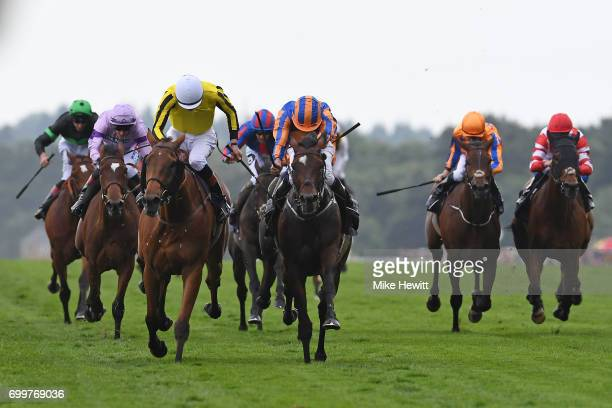 James Doyle and Big Orange beat Ryan Moore on Order of St George to win the Gold Cup on Day Three of Royal Ascot at Ascot Racecourse on June 22 2017...