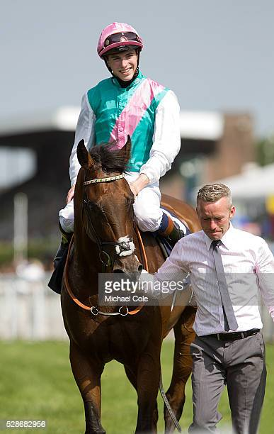 James Doyle on Snow Sky The Neptune Investment Management Gordon Stakes race at 'Glorious Goodwood' Goodwood Racecourse 30th July 2014