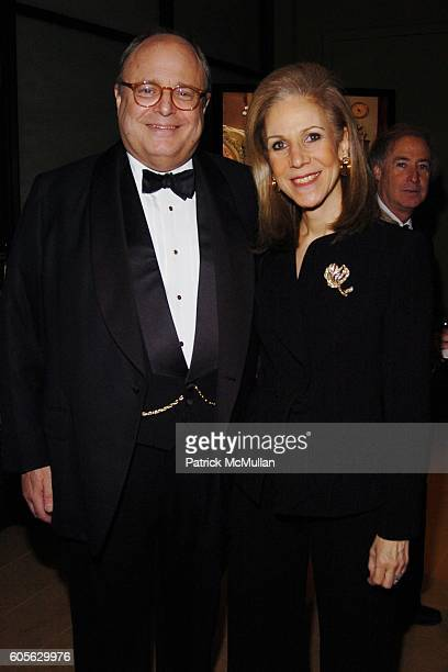James Druckman and Nancy Druckman attend The Education Legacy Fund ASID Honors James Druckman at The Rubin Museum of Art on February 13 2006 in New...