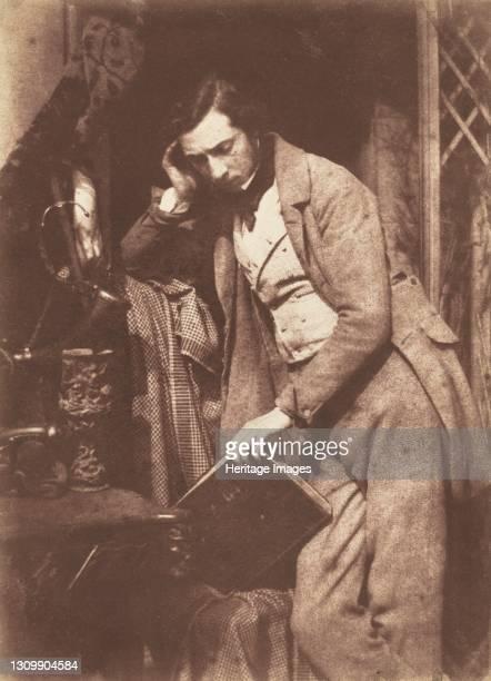 James Drummond, circa 1844. Artist David Octavius Hill, Robert Adamson. .