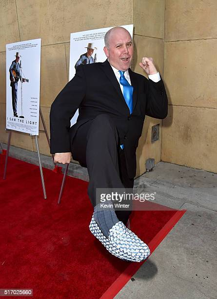 James DuMont attends the premiere of Sony Pictures Classics' 'I Saw The Light' at the Egyptian Theatre on March 22 2016 in Hollywood California