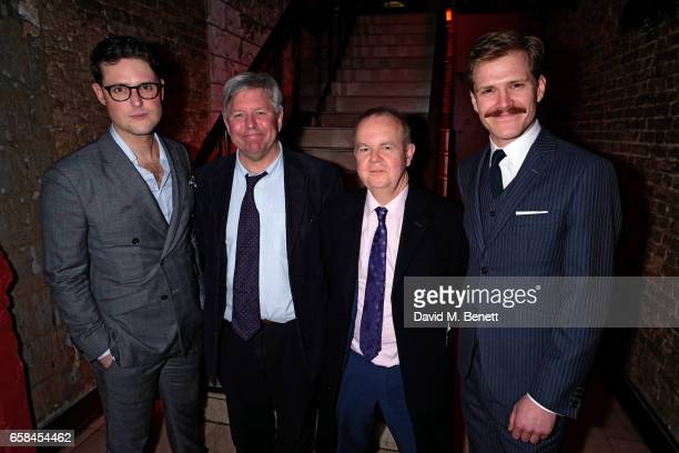 James Dutton Nick Newman Ian Hislop and George Kemp attend the press night after party for The Wipers Times at Salvador Amanda on March 27 2017 in...