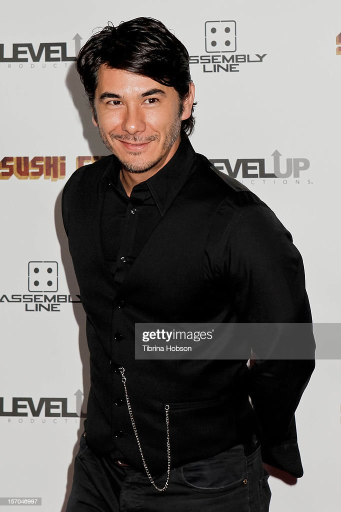 James Duval attends the 'Sushi Girl' Los Angeles premiere at Grauman's Chinese Theatre on November 27, 2012 in Hollywood, California.
