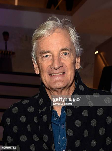 James Dyson attends the launch of the new Design Museum cohosted by Alexandra Shulman Sir Terence Conran Deyan Sudjic on November 22 2016 in London...