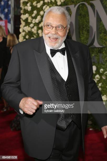 James Earl Jones attends the 2017 Tony Awards at Radio City Music Hall on June 11 2017 in New York City