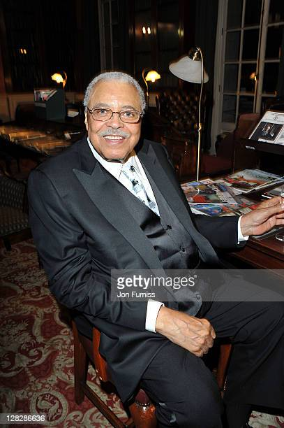 James Earl Jones attends the after party for the opening of Driving Miss Daisy at RAC Club on October 5 2011 in London England