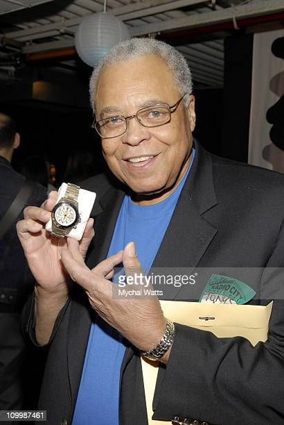 James Earl Jones during 60th Annual Tony Awards On 3 Productions Gift Suite at Radio City Music Hall in New York City New York United States