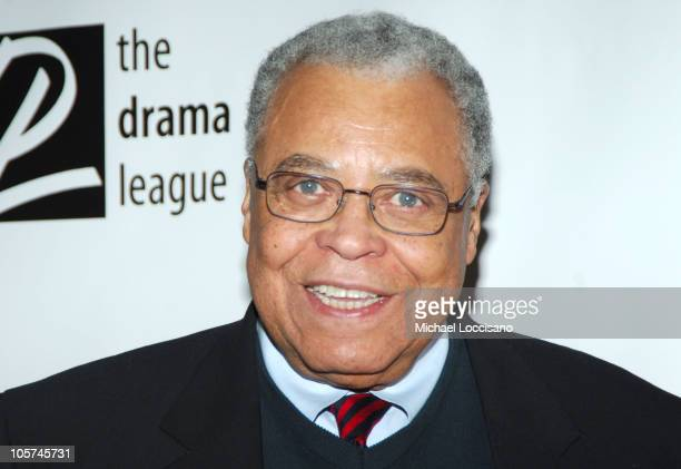 James Earl Jones during The 71st Annual Drama League Awards Inside Arrivals at Marriott Marquis Hotel in New York City New York United States