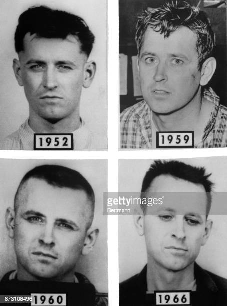 """James Earl Ray being sought in connection with the slaying of Dr Martin Luther King was placed on the FBI list of """"ten most wanted fugitives"""" 4/20..."""