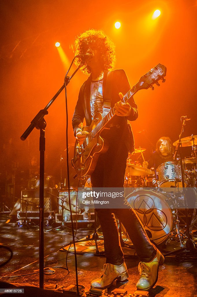 James Edward Bagshaw of Temples performs onstage at the NME Awards Tour Show at The Institute on March 25, 2014 in Birmingham, England.