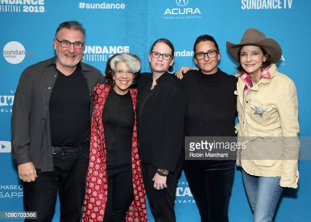 James Egan Janice Engel Katy Drake Bettner Kristy Tully and Carlisle Vandervoort attend the Raise Hell The Life Times Of Molly Ivins Premiere during...