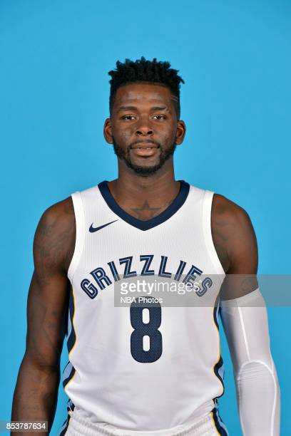 James Ennis III of the Memphis Grizzlies poses for a head shot during Media Day on September 25 2017 at FedExForum in Memphis Tennessee NOTE TO USER...