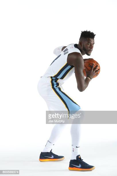 James Ennis III of the Memphis Grizzlies poses for a portrait during Memphis Grizzlies Media Day on September 25 2017 at FedExForum in Memphis...