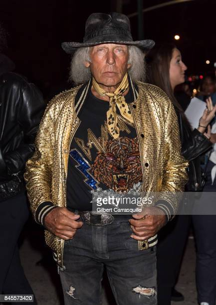James F Goldstein is seen arriving the FENTY PUMA by Rihanna Spring/Summer 2018 Collection at Park Avenue Armory on September 10 2017 in New York City
