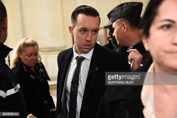 James Fairbairn one of four supporters of English Premier League club Chelsea accused of racist violence towards a black man in a Paris metro train...