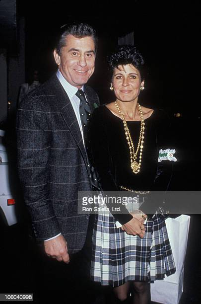 James Farentino and Tina Sinatra during Birthday Party for Amanda Lambert - March 17, 1990 at Jimmy's Restaurant in Beverly Hills, California, United...