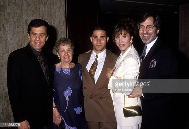 James Farentino Helen Lee David Farentino Michele Lee and Fred Rappoport