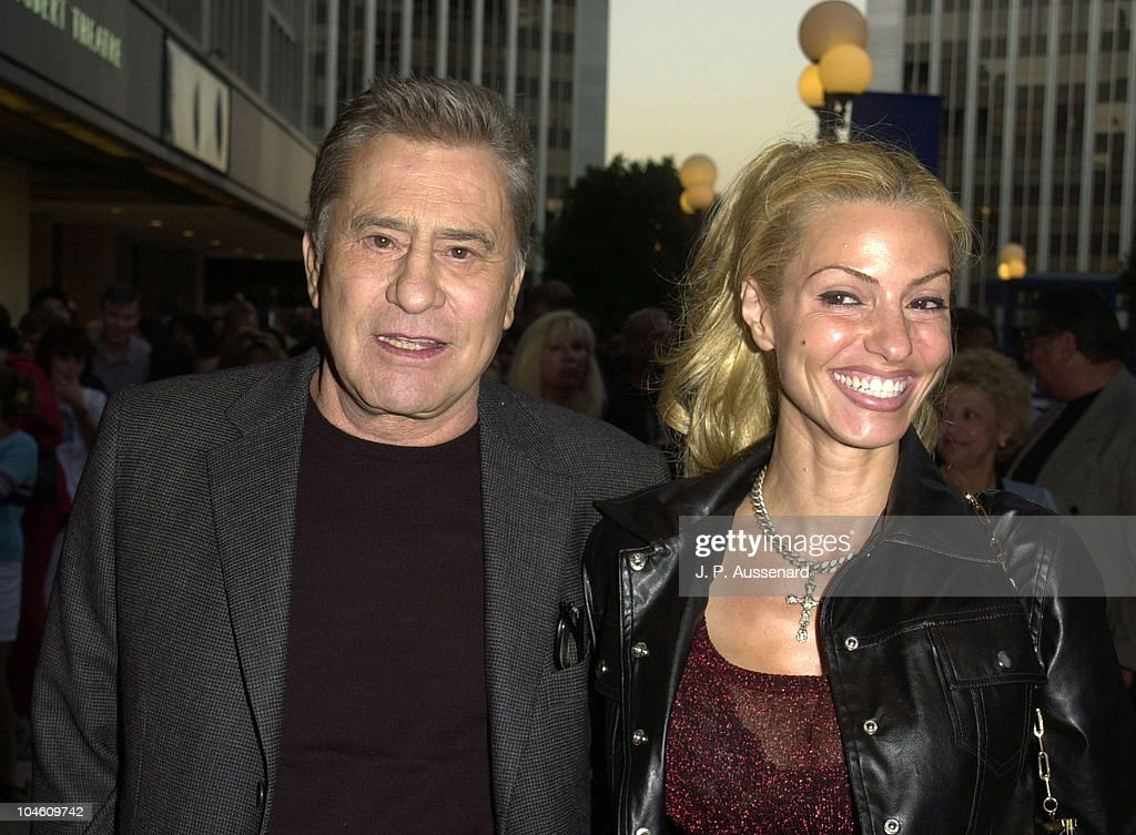 James Farentino & Stella during Kiss Me Kate Hollywood Opening at Shubert Theatre in Century City, California, United States.