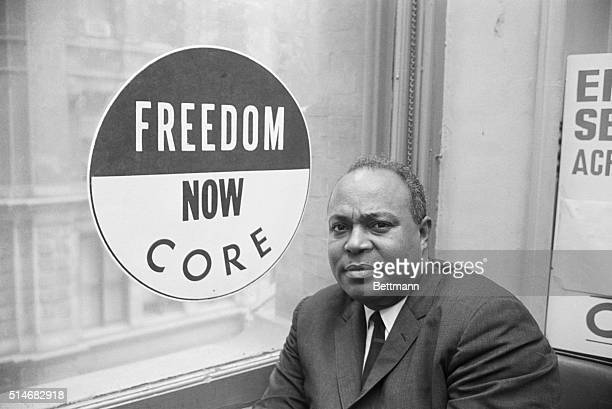 James Farmer Director of CORE sits in his office at 38 Park Row in New York City