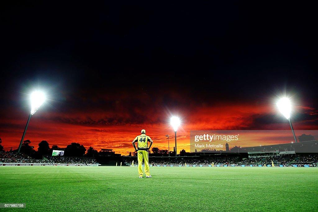 Australia v New Zealand - ODI Game 2 : News Photo