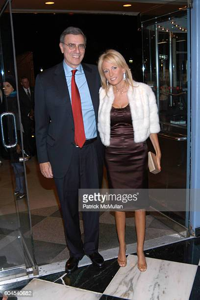 James Finkelstein and Pamela Gross attend Avenue Magazine Celebrates A List 2006 with Screening of A Good Year at The Paris Theatre Le Cirque on...