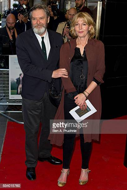James Fleet and Jemma Redgrave attend the UK premiere Love And Friendship at The Curzon Mayfair on May 24 2016 in London England