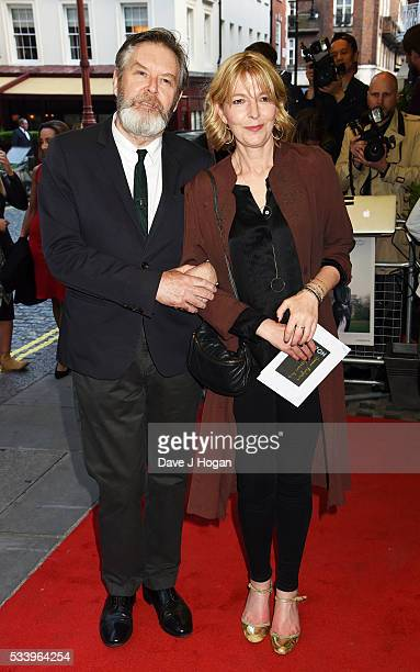 James Fleet and Jemma Redgrave attend the UK premiere of Love and Friendship at The Curzon Mayfair on May 24 2016 in London England