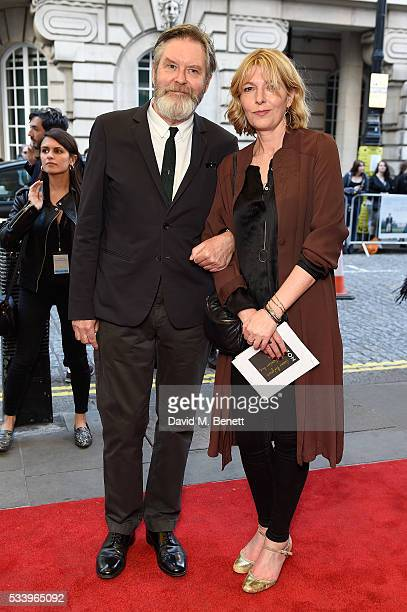James Fleet and Jemma Redgrave attends the UK Premiere of Love And Friendship at The Curzon Mayfair on May 24 2016 in London England