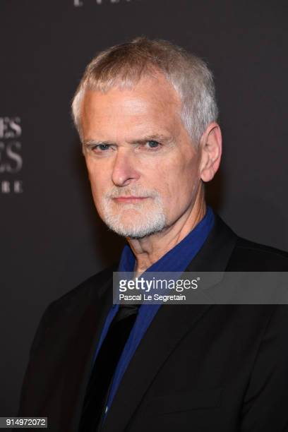James Foley attends 'Fifty Shades Freed 50 Nuances Plus Claires' Premiere at Salle Pleyel on February 6 2018 in Paris France