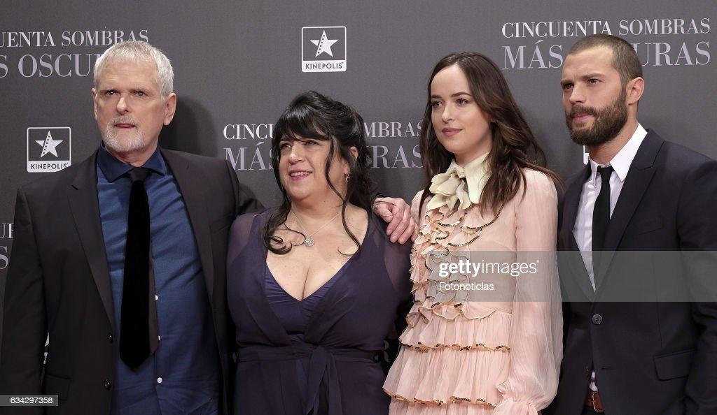 'Fifty Shades Darker' Madrid Premiere : News Photo
