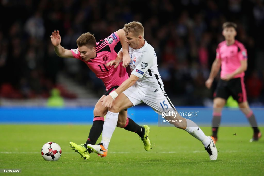 Scotland v Slovakia - FIFA 2018 World Cup Qualifier
