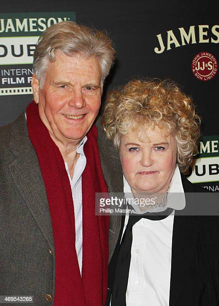James Fox and Brenda Fricker attend a screening of A Long Way From Home at the Jameson Dublin International Film Festival at Savoy on February 15...