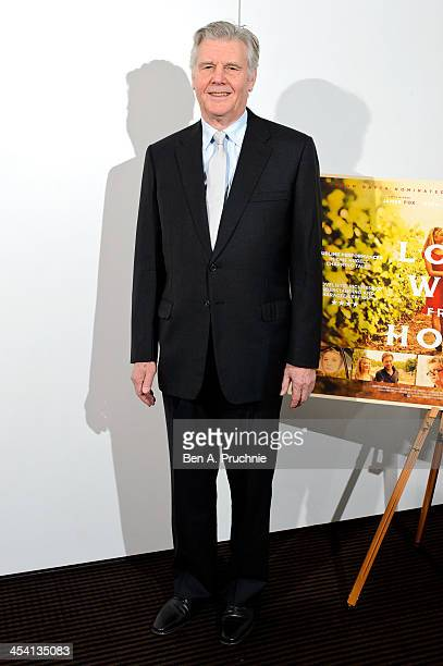 James Fox attends a BAFTA preview screening of A Long Way From Home at BAFTA on December 7 2013 in London England