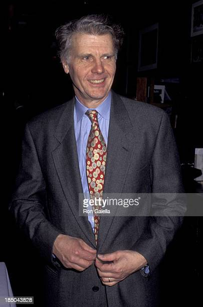 James Fox attends the opening of Uncle Vanya on February 23 1995 at Circle in the Square Theater in New York City