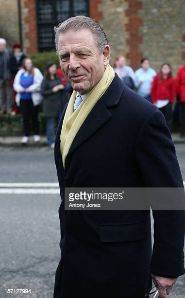 James Fox Attends The Wedding Of Billie Piper And Laurence Fox At The Parish Church Of St Mary In Easebourne, West Sussex..