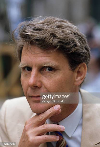 James Fox on the set of 'Absolute Beginners' directed by Julien Temple UK May 1985